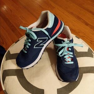 New Balance 515 blue sneakers 8.5